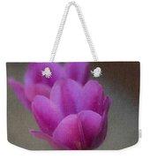 Soft Pastel Purple Tulips  Weekender Tote Bag