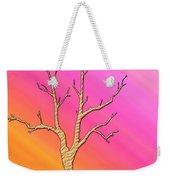 Soft Pastel Tree Abstract Weekender Tote Bag
