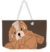 Soft Puppy Weekender Tote Bag