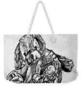 Soft Puppy Sketch Weekender Tote Bag