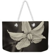 Soft Sepia Bloom Weekender Tote Bag