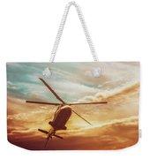 Soft Sunset Landing  Weekender Tote Bag