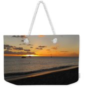 Soft Warm Quiet Sunset Weekender Tote Bag