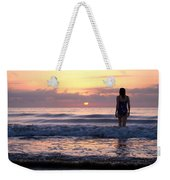 Soft Waves Weekender Tote Bag