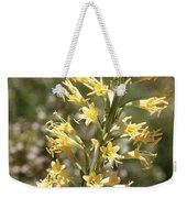 Soft Yellow Desert Flowers Weekender Tote Bag