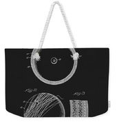 Softball Patent Weekender Tote Bag