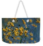 Softly Yellow And Blue Weekender Tote Bag