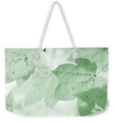 Softness Of Green Leaves Weekender Tote Bag