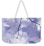 Softness Of Lavender Leaves Weekender Tote Bag