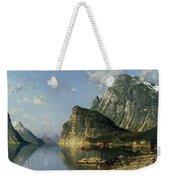 Sogne Fjord Norway  Weekender Tote Bag by Adelsteen Normann
