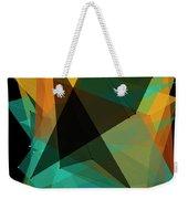 Soil Polygon Pattern Weekender Tote Bag