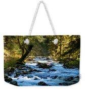 Sol Duc River Above The Falls - Washington Weekender Tote Bag