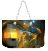 Solar Blue Stars Weekender Tote Bag