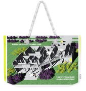 Solar Cube Two Axonometric Weekender Tote Bag