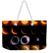 Solar Eclipse - August 21 2017 Weekender Tote Bag