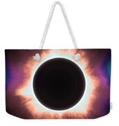Solar Eclipse In Infrared 2 Weekender Tote Bag