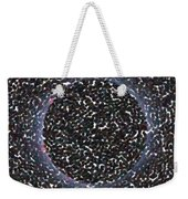 Solar Eclipse In Totality 5 Aboriginal Dotted Art Style Weekender Tote Bag
