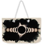 Solar Eclipse Phases 2 Weekender Tote Bag