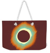 Solar Eclipse Poster 4 A Weekender Tote Bag