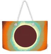 Solar Eclipse Poster 4 Weekender Tote Bag
