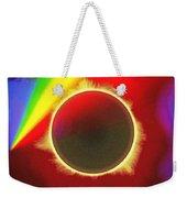 Solar Eclipse Spectre Weekender Tote Bag