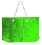 Solar Green Weekender Tote Bag