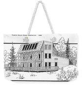 Solar House Weekender Tote Bag