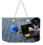 Solar Panels Melbourne,solar Panel Installation Melbourne Weekender Tote Bag