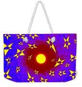 Solar Radiation Weekender Tote Bag