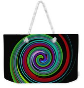 Solar Scroll Weekender Tote Bag