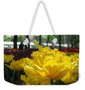 Solar Tulip Weekender Tote Bag