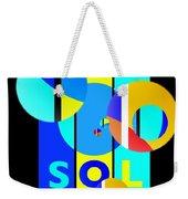 Solar Winter Weekender Tote Bag