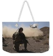 Solders Are Inserted By A Ch-53 Super Weekender Tote Bag