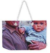 Soldier And Baby Weekender Tote Bag
