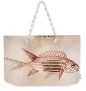 Soldier-fish, 1585 Weekender Tote Bag