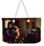 Soldiers Beside A Fireplace 1632 Weekender Tote Bag