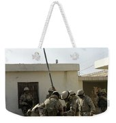 Soldiers From The Iraqi Special Forces Weekender Tote Bag
