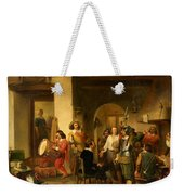 Soldiers In A Tavern During The Thirty Years Weekender Tote Bag