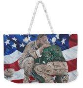 Soldiers Weekender Tote Bag
