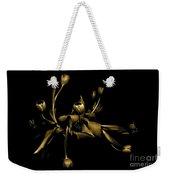 Solid Gold Weekender Tote Bag