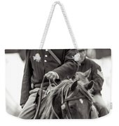 Solider On Horseback Weekender Tote Bag