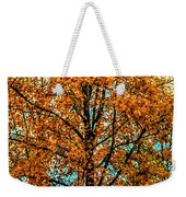 Solitary Fall Weekender Tote Bag