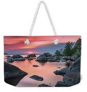 Solitary Island Weekender Tote Bag