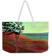 Solitary Pine Weekender Tote Bag