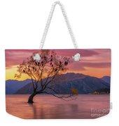 Solitary Willow Tree Weekender Tote Bag