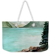 Solitude Of The Lake Weekender Tote Bag