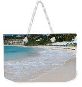 Solitude On Dawn Beach Weekender Tote Bag