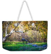 Solitude Under The Sycamore Weekender Tote Bag by Carol Groenen