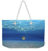 Solo Under The Turquoise Sea Weekender Tote Bag