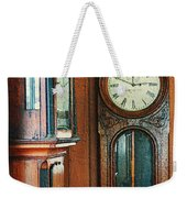 Somebodys Grandfathers Clocks Weekender Tote Bag